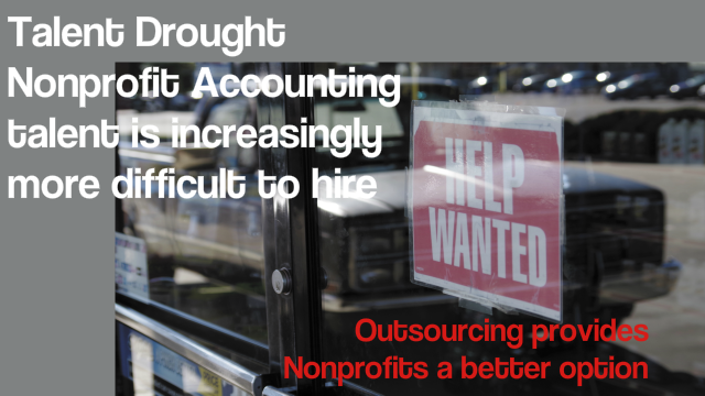 "Nonprofit Accounting – Is that ""Help Wanted"" Sign Gathering Dust?"