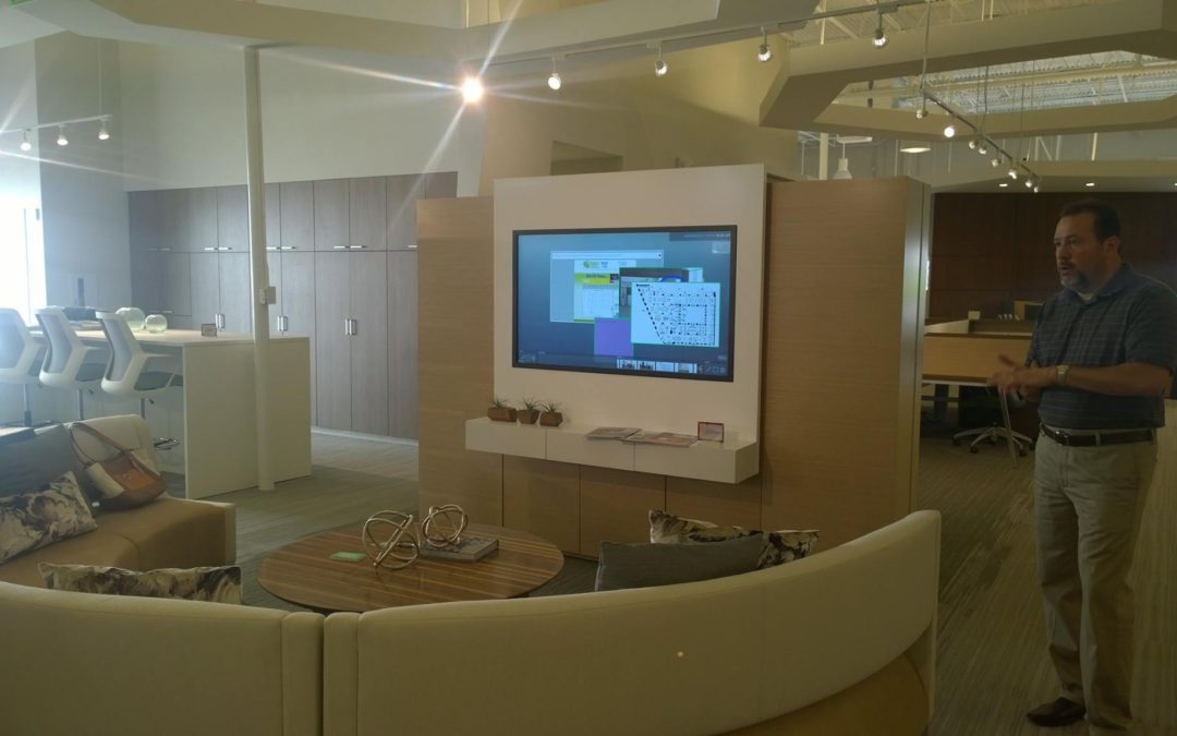 Trip to showrooms in Atlanta with Impact Office Interiors