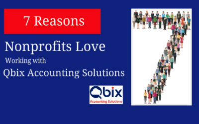 7 Reasons Nonprofits Love Working with Qbix Accounting Solutions