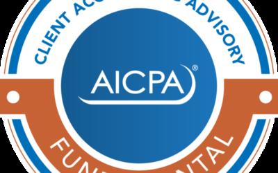 First in The USA  AICPA CAAS Designation!