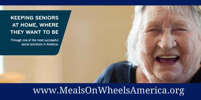 "How Meals on Wheels America ""Kills Stupid Work"""