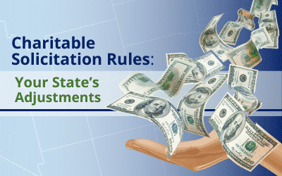 Charitable Solicitation Rules for States
