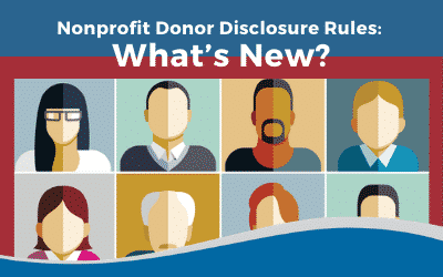 Nonprofit Donor Disclosure Rules